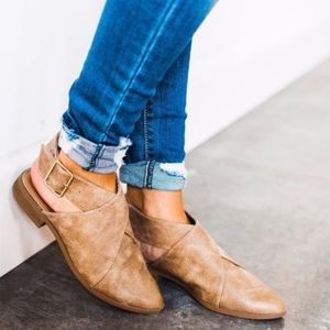 Buckle Wrap Shoe